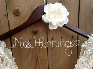 bride hanger bridal dress hanger wedding hanger With dress hanger wedding