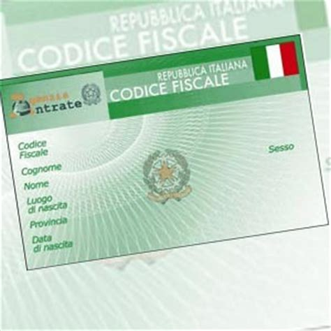 vivere  italia  ottenere il codice fiscale