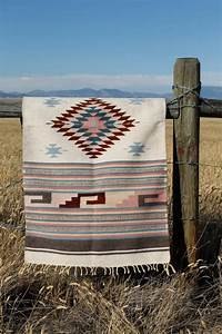 vintage wool navajo style saddle blanket or rug woven ethnic With tapis laine vintage