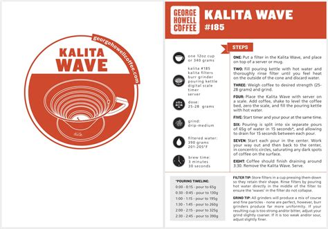 250 grams of coffee for every liter of water; pour over - How many grams of coffee to use with the George Howell Kalita Wave recipe? - Coffee ...