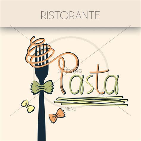 deckblatt speisekarte vorlage pasta ristorante menu