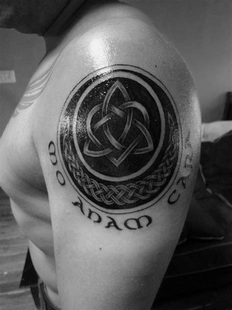 60 Triquetra Tattoo Designs For Men - Trinity Knot Ink Ideas