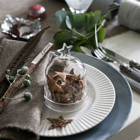 budget christmas table ideas ideal home
