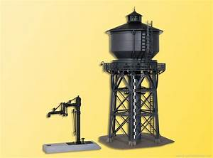 Kibri 39328 Ho H0 Water Tower With Water Crane