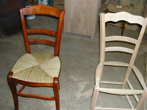 moderniser une chaise en paille comment reparer une chaise en paille