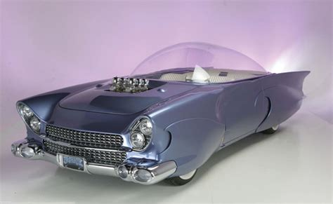 "1955 Ford ""beatnik"" Bubbletop Custom Concept Going Up For"
