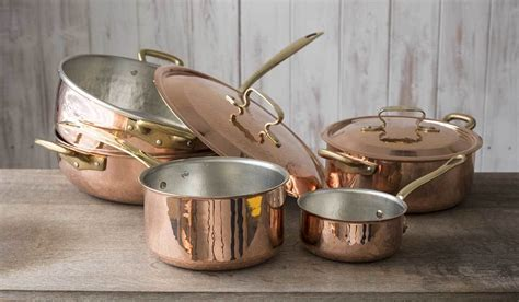 copper cookware sets   bhg