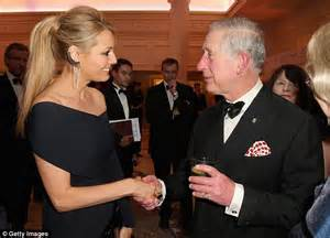 Prince Charles Blushes As He Greets Beautiful Joanna