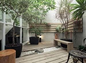 Jardin D Interieur : am nager un jardin int rieur 105 id es de design original ~ Dode.kayakingforconservation.com Idées de Décoration