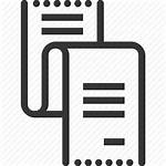 Icon Slip Pay Bill Payslip Monthly Tax