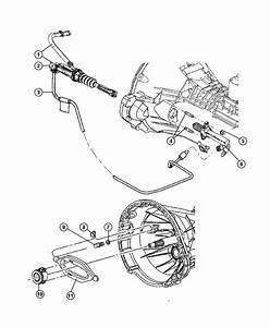 Jeep Liberty Tube  Hydraulic Clutch  Cylinder  Master