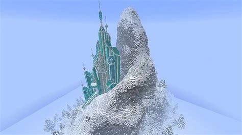 elsas ice castle frozen map jpg