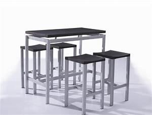 Tabouret Table Haute : table rabattable cuisine paris table haute avec tabouret ~ Teatrodelosmanantiales.com Idées de Décoration