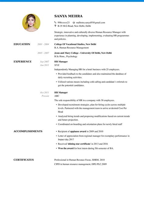 Free Resumebuilder by Resume Format My Resume Format Free Resume Builder
