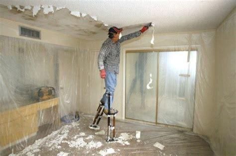 popcorn ceiling removal  repair williams painting