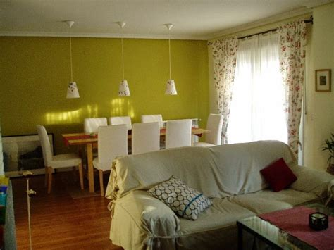 decoracion de casas pequenas interiores verdes  ideas