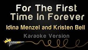 Idina Menzel and Kristen Bell - For The First Time In ...