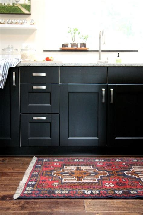 Black Kitchen Furniture by One Color Fits Most Black Kitchen Cabinets