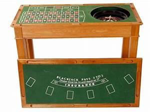 Bar A Roulette : 4 in 1 wooden casino bar game table roulette craps blackjack poker gaming bar ideas ~ Teatrodelosmanantiales.com Idées de Décoration