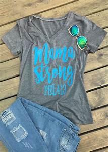 Mama Strong T Shirt Fairyseason