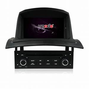 Ugode 7 Inch Double Din Car Stereo For Renault Megane 2