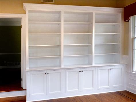 built in bookcase kit custom made home office built in bookcases by stuart home