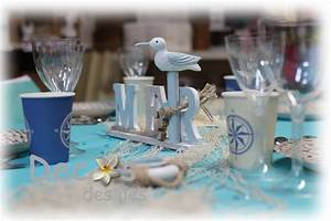 Mariage Theme Mer : decoration mariage sur les iles et la mer vente articles de decoration exotique et marine ~ Nature-et-papiers.com Idées de Décoration