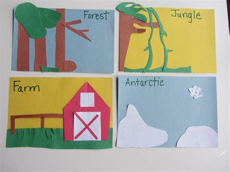 Animal Habitats, Animal And Activities