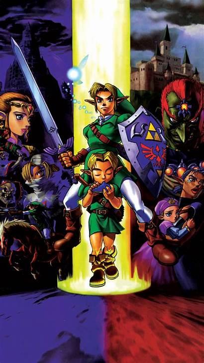 Zelda Legend Ocarina Phone Mobile Anniversary Poster