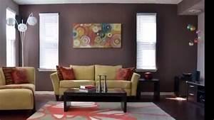 Deco Pour Salon : id es de peinture pour salon youtube ~ Premium-room.com Idées de Décoration