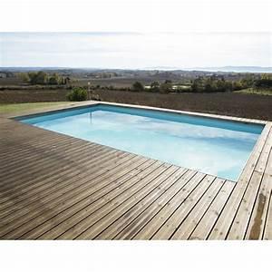 Piscine Bois Ubbink : piscine bois rectangulaire 500x800cm linea toute quip e ~ Mglfilm.com Idées de Décoration