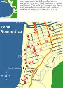 Puerto Vallarta Romantic Zone Map