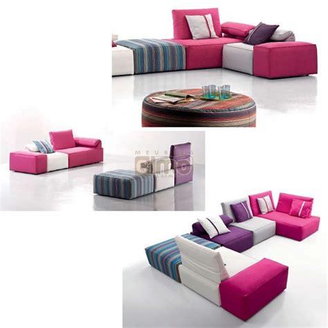 cuisine modulable pas cher canapé d 39 angle canapé tissu modulable design contemporain