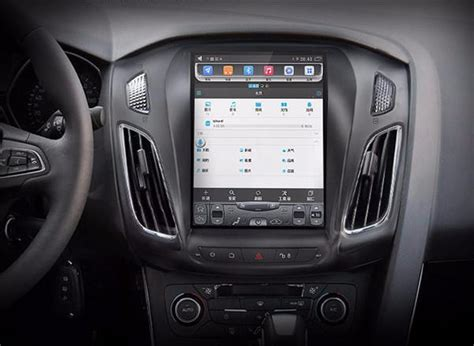vertical screen android navi radio  ford focus