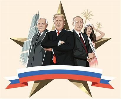 Trump Russian Donald Ties Connections Russia Trumps