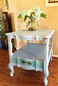 French Provincial End Table and Chippy Paint - The Purple ...  French