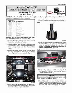 Arctic Cat Atv Installation Instructions