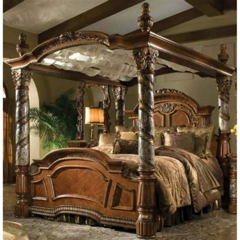 Queen Size Waterbed Headboards by 50 Cool Ideas For Canopy Beds Made Of Wood In The Bedroom