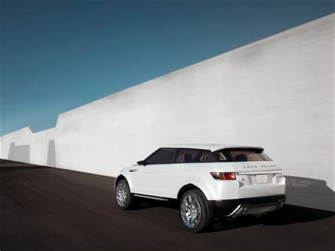 2008 Land Rover Lrx Concept Rear Angle Speed Wall