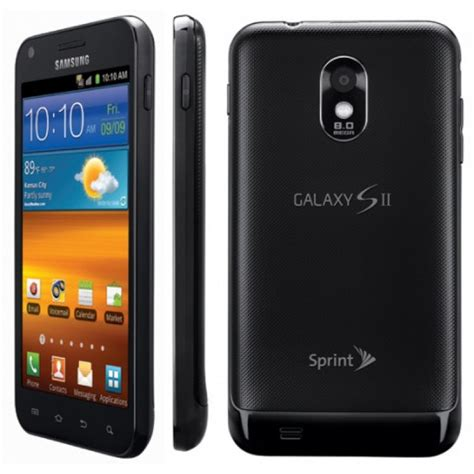 Samsung Galaxy S2 Epic Touch Android Smartphone 4G D710