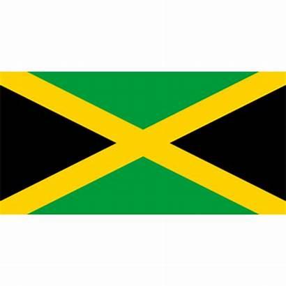 Flag Jamaica Clipart Jamaican Jamaika Cliparts Flagge