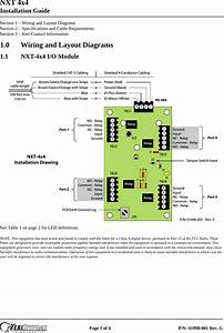 Keri Systems 4x4 Installation Guide G Nxt 4x4 Installation