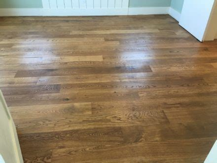 Character Grade White Oak Flooring   Install, Sand and