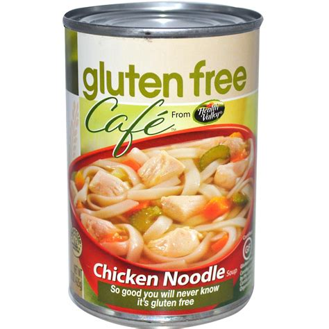 gluten free of soup health valley gluten free caf 233 chicken noodle soup 15 oz 425 g iherb com