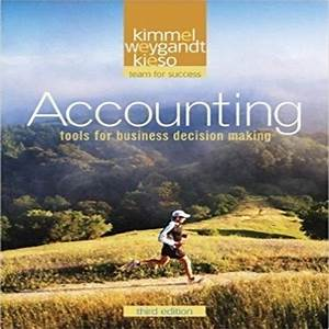 Solution Manual For Accounting 3rd Edition By Kimmel