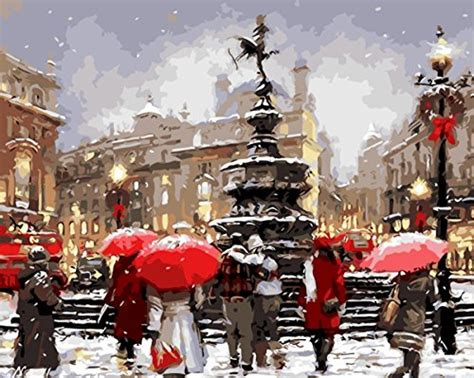 Christmas Paint By Number Kits • Comfy Christmas