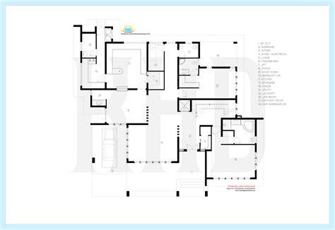 modern luxury floor plans beautiful contemporary luxury villa with floor plan house design plans