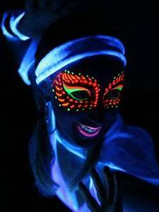 Glow Face Paint on Pinterest