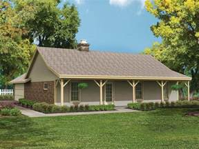 Country Ranch Style House Plans