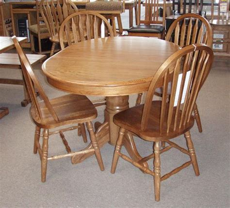 round oak dining room table » Dining room decor ideas and